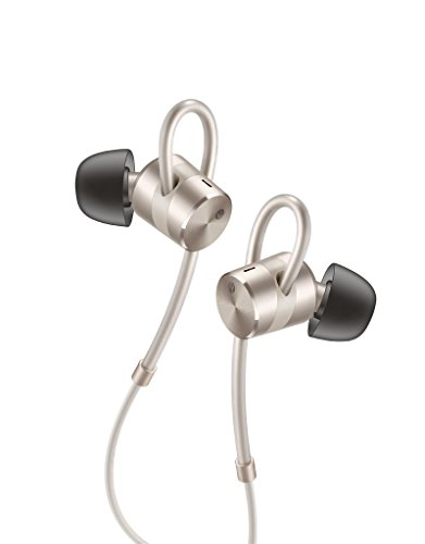 Huawei Active Noise Cancelling (ANC) Customizable Ergonomic In-Ear Headphones, Gold (US Warranty)