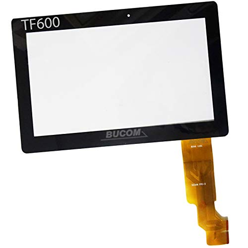 Bucom Display Front Vetro per ASUS TF600 TF600TG 10.1' Digitizer Touch Screen Tablet LCD Glass