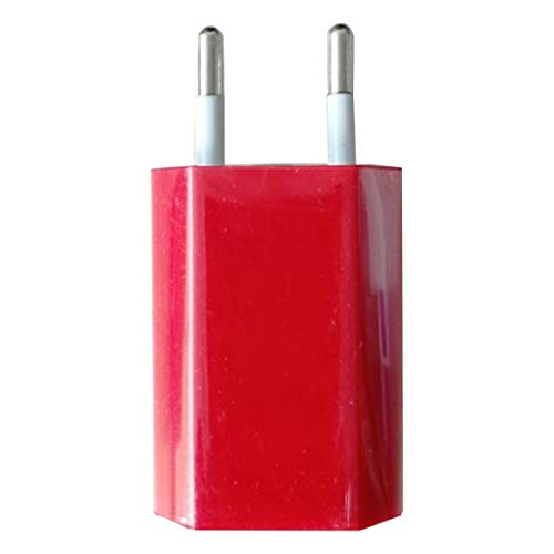 KoelrMsd Adaptador de Cargador de Cargador de Pared USB 5V 1A Puerto USB único Cubo de Enchufe de Cargador rápido para teléfono Android