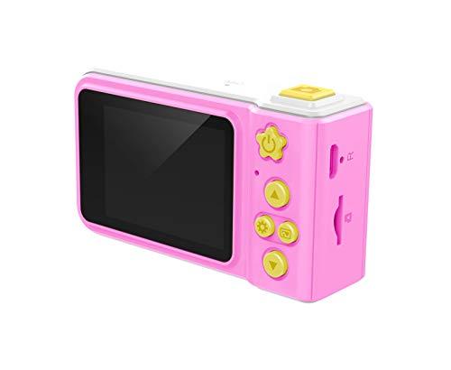 Top Race My First Shockproof Real HD Digitalkamera & Videorekorder mit Micro-SD-Karte und installierten Spielen, 5,1 cm Bildschirm für Jungen oder Mädchen, Spielzeug für Kinder ab 3 Jahren