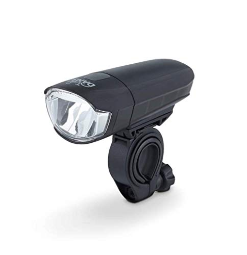 DANSI LED Batterie-Frontleuchte, 30/15 Lux, StVZO zugelassen, schwarz, 44011
