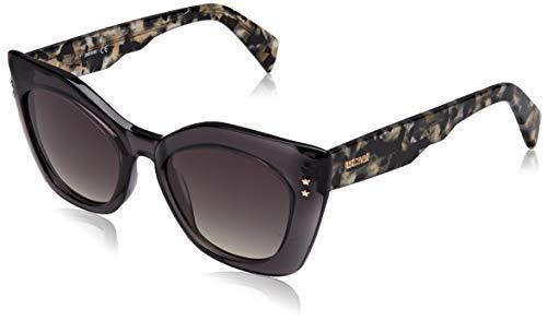 Just Cavalli JC820S Gafas de sol, Gris (Grey/Other/Gradient Smoke), 50.0 para Mujer