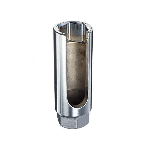 Tiamu 22 Mm 3/8 Zoll Fahrt Lambda Oxygen Sensor Entfernung Steck Schlüssel Werkzeug + Loch Fenster Draht Auto Reparatur Werkzeuge Silber