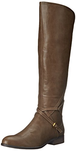 Very Volatile Women's Cabernet Riding Boot, Taupe, 7 B US