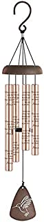 Carson 60523 Memory Treasure Rose Gold Sonnet Chime, 21 Inches Long
