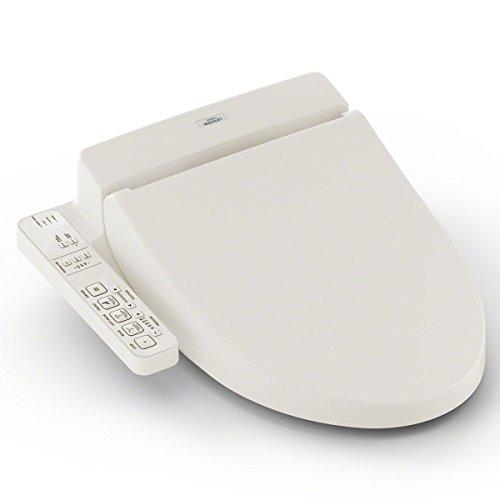 TOTO SW2034#12 C100 WASHLET Electronic Bidet Toilet Seat, Elongated, Sedona Beige