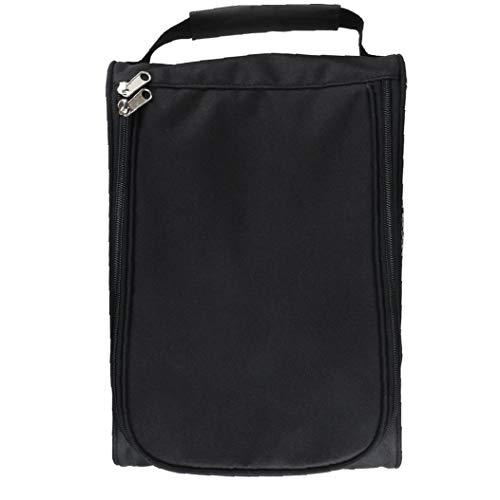 Outdoor Golf Schuhe Taschen Tragbare Reise-Schuhe Taschen Mit Reißverschluss Sportschuhe Tasche Für Männer Frauen Schwarz 1pc