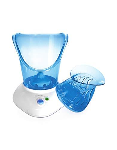 Lanaform Facial Care - Sauna facial avec Inhalateur - Nettoie, hydrate la peau et décongestionne les voies respiratoires