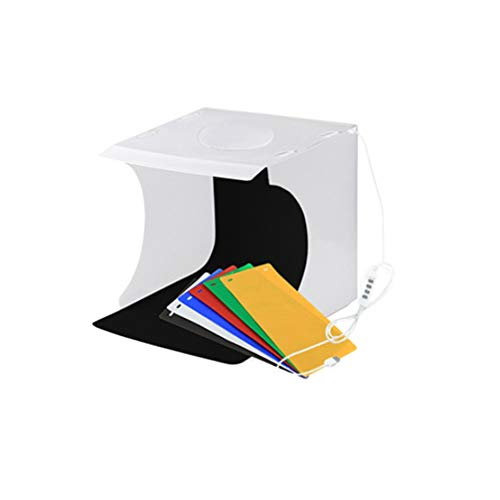SOLUSTRE Portable Photo Studio Light Box Reusable Photography Photo Shooting Tent Compact Ligtbox for Small Products Photographer Family Friends