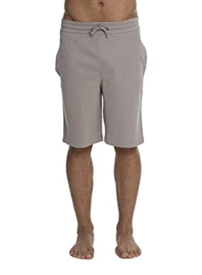Barefoot Dreams Malibu Collection Men's Brushed Jersey Short, Drawstring Shorts, Workout/Gym Clothes