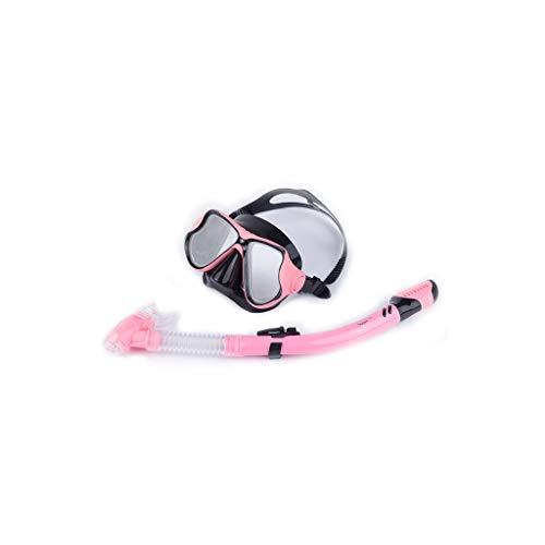 Máscara de buceo para buceo (color: rosa)