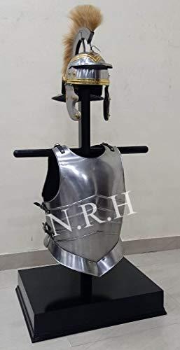Nautische Replik Hub, Mittelalterliche Brustplatte, Muskeljacke, Ritter Römischer Helm, Spartan-Kostüm
