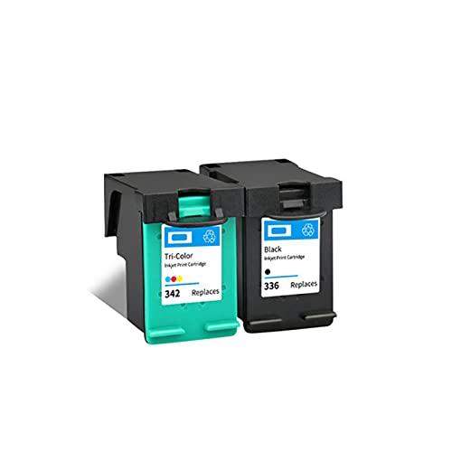 Merotoner - Tóner compatible con HP 336 PS 342 para impresoras Deskjet 5420 5432 5440 5442 5443 OfficeJet 6300 6310 6310xi