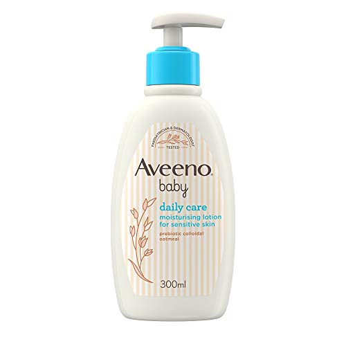 Aveeno Baby Daily Care Moisturising Lotion, 300 ml [Packaging May Vary]
