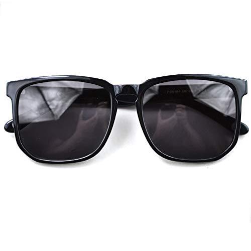 Hancoc Gafas UV400 Retro for Hombre for Mujer Gafas De Sol Gafas De Moda Gafas Decorativas
