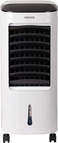 Air Cooler PRO Condizionatore portatile con funzione deumidificatore, 3 in 1, refrigeratore, deumidificatore e purificatore d'aria, climatizzatore mobile con timer e telecomando, ottimale fino a 40m2