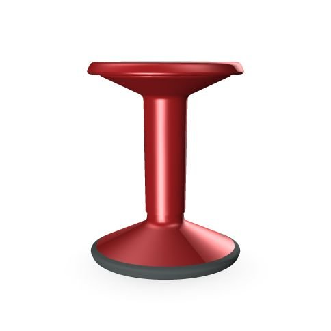 Interstoel kruk, polyethyleen, rood, 65 cm