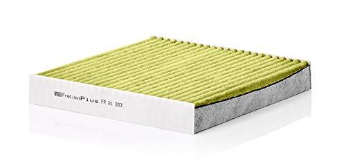 Original MANN-FILTER Innenraumfilter FP 21 003 – FreciousPlus Biofunktionaler Pollenfilter – Für PKW