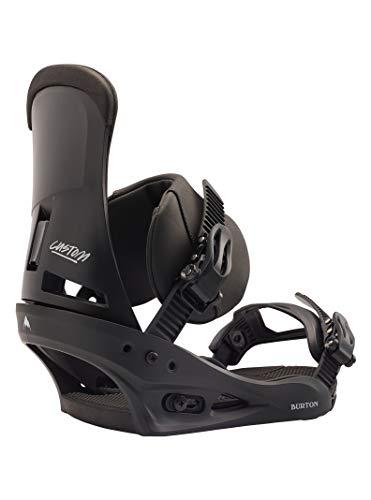Burton Herren Custom Snowboard Bindung, Black, L
