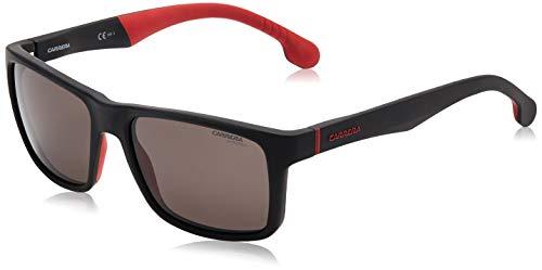 Carrera 8024/LS Gafas de sol, Matt Black, 57 Unisex-Adulto