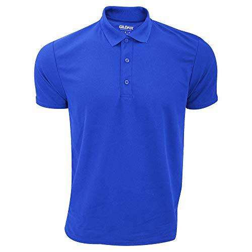 Gildan - Polo Sport à Manches Courtes - Homme (3XL) (Bleu Roi)