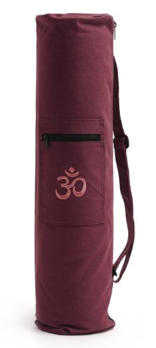 Yogistar Yogatasche Basic Zip Art Collection - Cotton 65cm Bordeaux