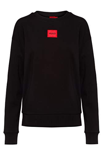 HUGO Damen Nakira_redlabel Sweatshirt, Black1, XL