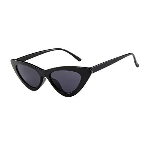 Occhi di Gatto Topgrowth Occhiali da Sole Donna Vintage Retro Eyewear Integrato UV Caramelle Colorate Occhiali Protettivi (G)