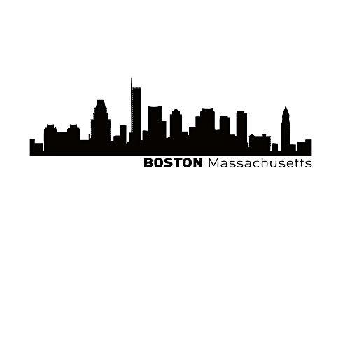 boston skyline decal - 7