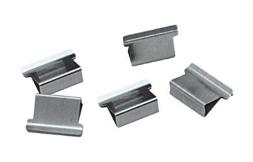 PEARL Zubehör zu Blatthefter: Blattklammern maxi 250 Stück für PE-4585 (Metallklammern)