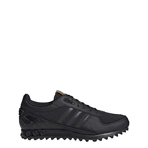 adidas Zapatillas La Trainer II para hombre, color negro, talla 38, Hombre, FV6646, Negro , 38 EU