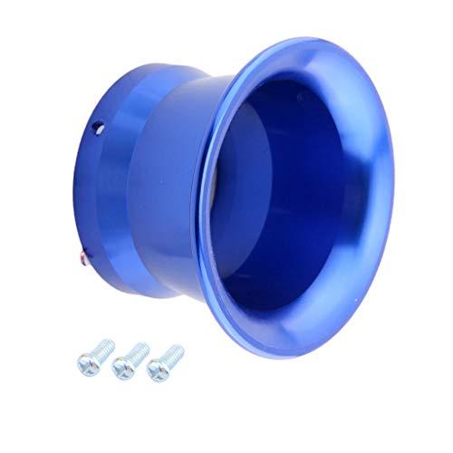 KESOTO 50mm Vergaser Luftfitler Ansaugtrichter Aluminium Trichter für PWK24/ 26/28/ 30 - Blau