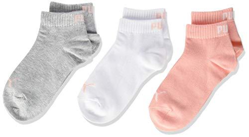 PUMA Kids' Quarter Socks (3 Pack)