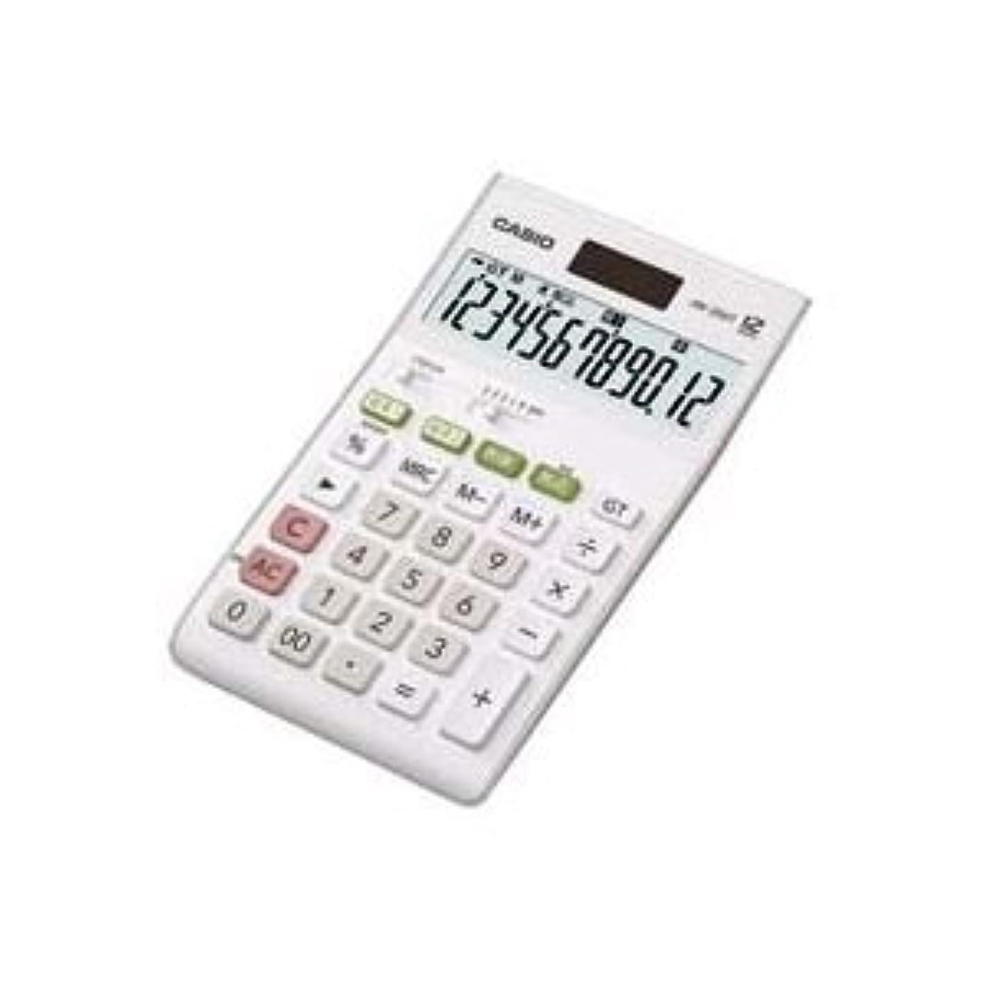 満足放棄されたノート(業務用2セット)カシオ CASIO W税率電卓ジャストサイズ12桁 JW-200T-N [簡易パッケージ品]