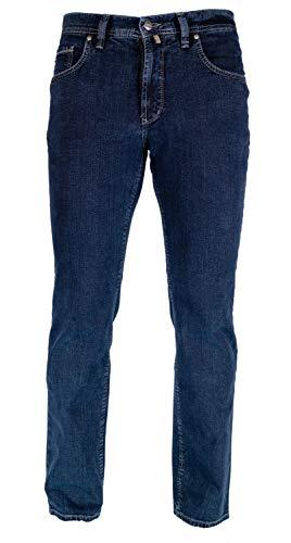 Pionier Jeans & Casuals Herren Peter Straight Jeans, Blau (Darkblue 61), 41W / 34L