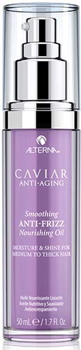 Alterna Caviar Anti-Aging Smoothing Anti-Frizz Nourishing Oil, 1.7 Fl Oz | Lightweight Treatment, Controls Frizz | Sulfate Free