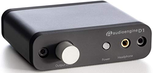 Audioengine D1 24-Bit DAC, Premium Desktop Digital to Analogue Converter & Headphone Amplifier