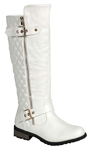 Forever Link Mango-21 Lady Boot White (6.5)