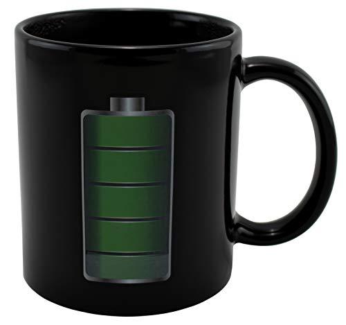 Taza de café de cerámica que cambia el calor   diseño único