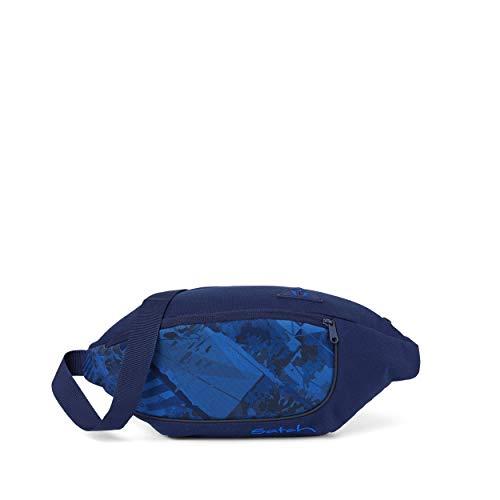 satch Cross, Bauchtasche für die Freizeit, 2 Fächer - Move It, Blau