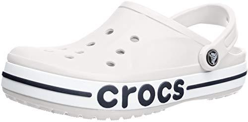 Crocs Bayaband Clog, white/navy, 8 US Women / 6 US Men