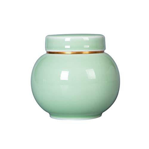 LYP Cremación Urns Urnas de cremación Urnas de cremación Caja de entierro Material ceramico Claro como el Cristal Sellado contra la Humedad por una pequeña cantidad de Cenizas humanas. Recuerdo