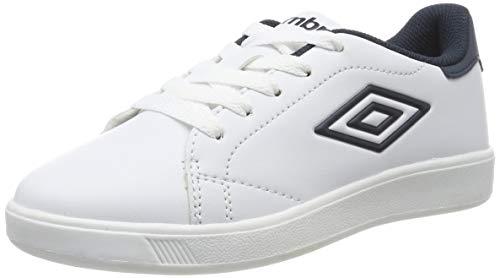 UMBRO Herren Medway 3 Lace Jr Sneakers, Weiß (White/Dark Navy P30), 36 EU