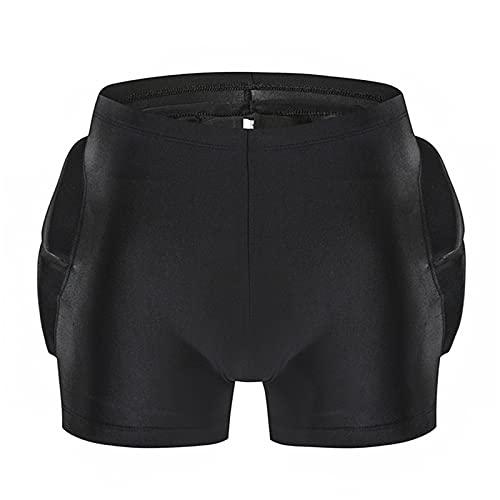 Ueohitsct Atmungsaktive 3D-Schutz-Shorts für Jungen und Mädchen, Hüft-, Gesäß-, Steißbeinschutz, Shorts für Outdoor, Snowboarden, Skaten, Skifahren