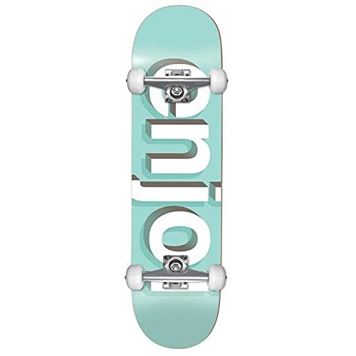 Enjoi Complete Skateboards First Push Helvetica Neue Aqua 8 x 31,6
