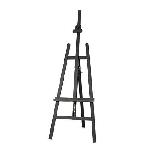 XIANWEI Caballete, Puede Levantar El Tablero De Dibujo, Soporte De Exhibición Multifunción, Caballete De Dibujo, 57X64X147 (193) Cm ( Color : Black )