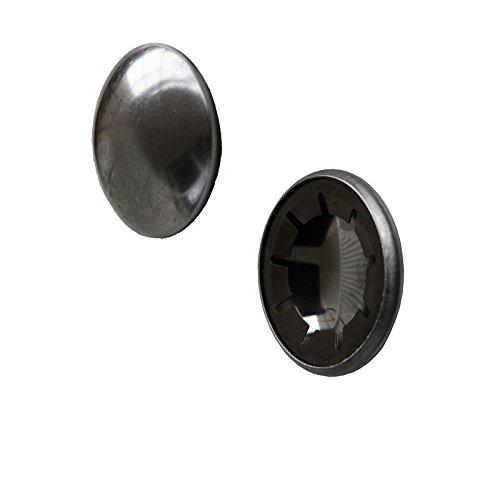 2 Stück HMH® Achskappe Starlockkappe Sicherungskappe Stahl Achse 20 mm