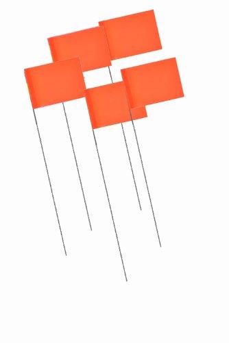 Bon 84-846 Markierungsfähnchen, Neonfarben, Orange, 1000 Stück