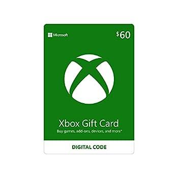 $60 Xbox Gift Card [Digital Code]