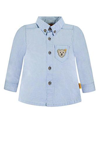 Steiff Steiff Baby-Jungen 1/1 Arm Hemd, Blau (original|Multicolored 0004), 62